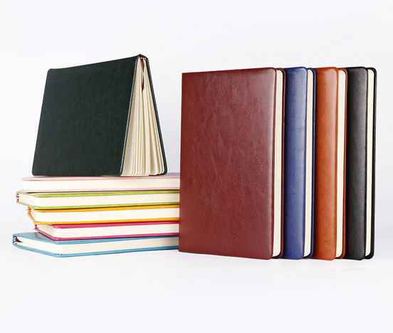 Leather notebook, business notebook