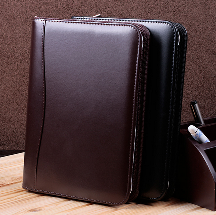 Zipper Bag Pu Notebook Custom Logo T Amp H Notebook Co
