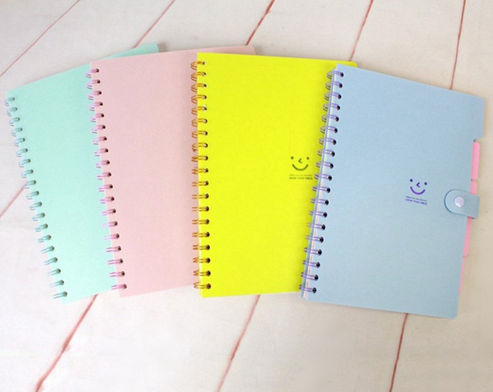 Business poly cover notebook