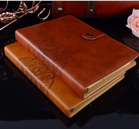 A5 loose-leaf notebook of the high-end business