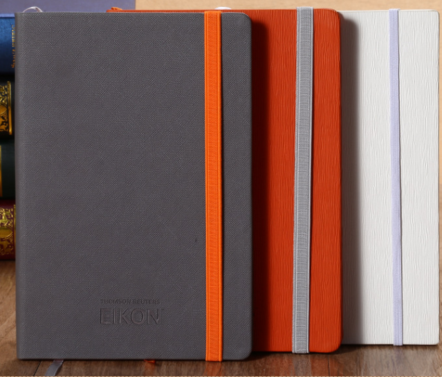 Elastic PU notebook