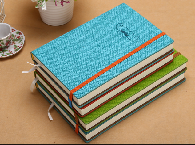 Elastic notebook notepad