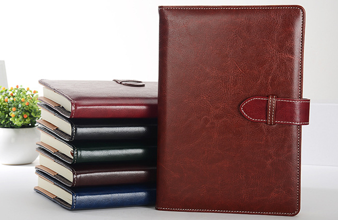 customized imitation leather PU notebook